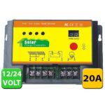 PWM CHARGE CONTROLLER 20AMP