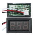 Digital LED Panel Voltage Meter