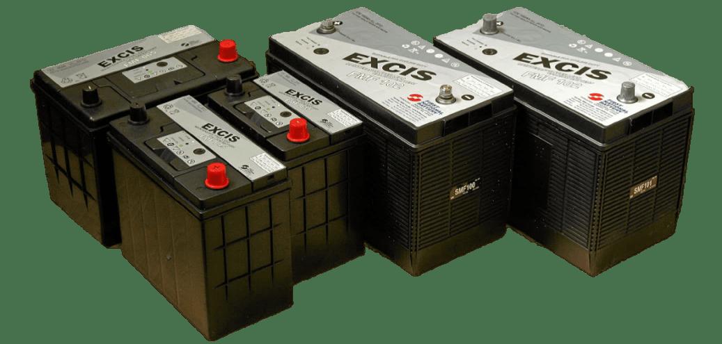 EXCIS Batteries
