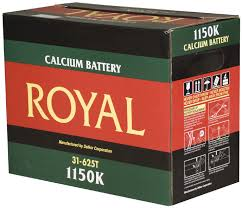 ROYAL 1150K BATTERIES