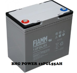 FIAMM BATTERY 12FGL 55AH