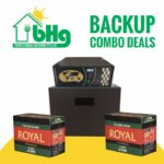 Invertor & battery power backup combo deal